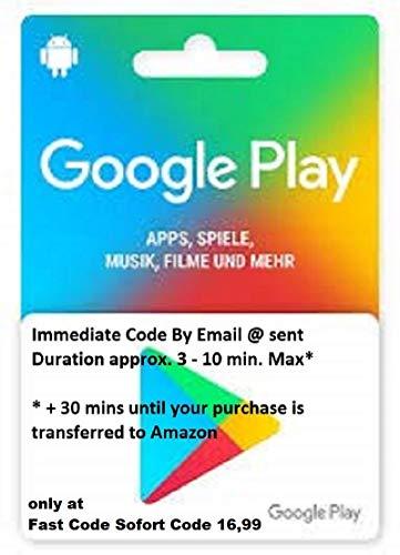 google play guthaben 15€