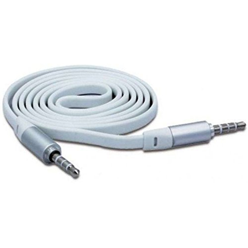Griffin connect+play AUX cable  available at amazon for Rs.175