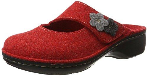Hans Herrmann Collection Damen Hhc Pantoletten Rot (Rosso)