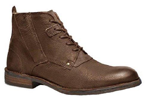 Chaussures bottines model HARRY en cuir par HGilliane Design Eu 33 au 46 brown