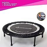 Mini trampolineBounce & Burn -une manière abordable et amusante pour perdre du poids et se remettre en forme, DVD inclus