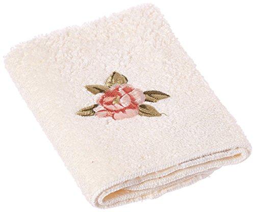 Avanti Linens Premier Royal Rose Badetuch, elfenbeinfarben, Hand -