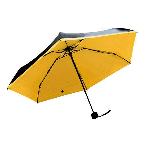Wascoo Automatischer winddichter und Stabiler Regenschirm Kompaktes und leichtes Taschenetui, Automatischer Reiseschirm Kompakte Tasche und leichtes, wasserdichtes Anti-Blitzgerät