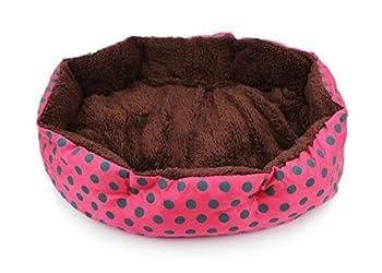 JUNGEN Pet Nid Puppy Kitten Bed Mat Tapis de Chien Petits Points Octogonal Cushion Chiot Chambres Sleeping