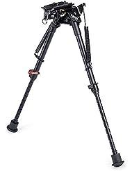 Zeadio pivote giratorio ajustable bípode para Rifle Pistola de aire (9 a 13 pulgadas) [1 año de garantía], ZBP-012