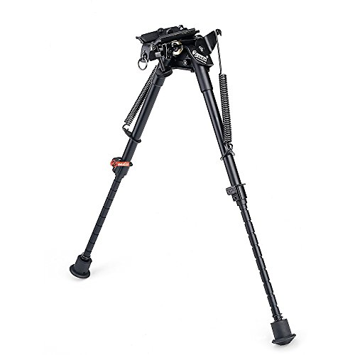 zeadio-9-13-inches-swivel-pivot-tiltable-bipod-with-sling-mount