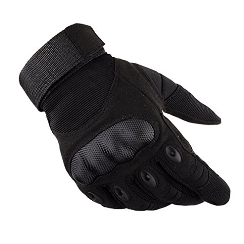 Yying Motorrad Handschuhe Finger Touchscreen Handschuhe Sporthandschuhe Geeignet Für Motorrad/Atv Reiten/Klettern/Skifahren/Airsoft/Wandern Und Andere Outdoor-Sportarten Schwarz Xl