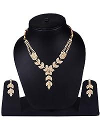 Diamond Jewellery Set For Women / Diamond Jewellery Set Jewellery Set For Wedding Party / Dulhan Jewellery Set...