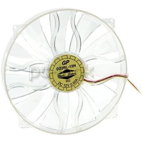 Yate Loon 220mm Fan Blue LED : D22BL-12H