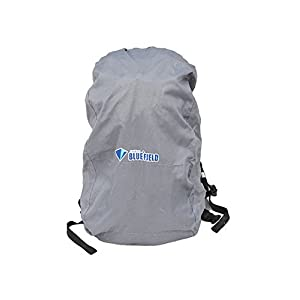 41RgVKsS9rL. SS300  - Tear Resistant Grey Camping/Hiking Water-proof Backpack Rain Cover, 15-35L