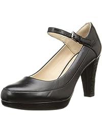 Clarks Kendra Dime Zapatos con Cierre al Tobillo de Cuero, Mujer