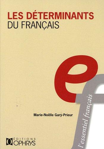 Determinants du Français
