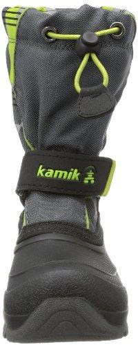 Kamik Snowbank2G NK4638 Unisex-Kinder Schneestiefel Grau (charcoal CHA)