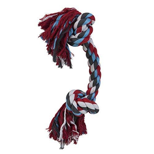 Dogzilla Monster mit 2Knoten, Seil, Größe L (2 Knoten Seil)