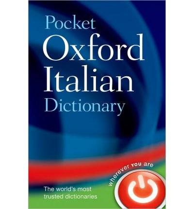 [ POCKET OXFORD ITALIAN DICTIONARY BY OXFORD DICTIONARIES](AUTHOR)PAPERBACK