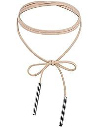 Daesar Joyería Gargantilla Terciopelo para Mujer Velvet Larga Cuerda de Lazo Chokers Necklace