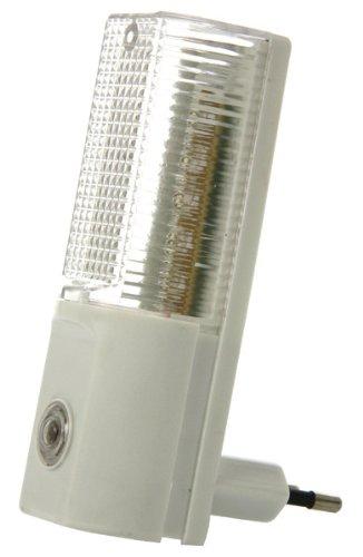 LED Nachtlicht mit Tag/Nacht-Sensor 230V, 1W