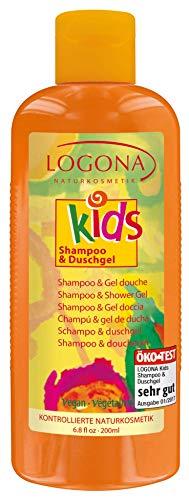 Logona - gel shampoo extra-fruttati bambini doccia - logona