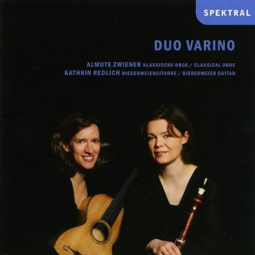 Werke für klassische Oboe und Biedermeier-Gitarre