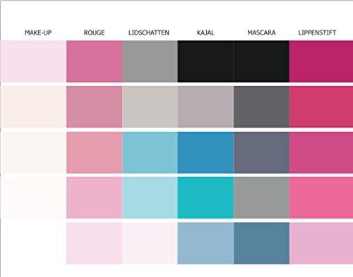 farbkarte sommertyp Make-Up Pass Farbpass Sommertyp 30 Farben Make-Up Sommertyp, Farbkarte, Sommerfarben Sommertyp,kalter Farbtyp, Farbfächer, Farbberatung, Typberatung, Farbkarten, Farbpalette