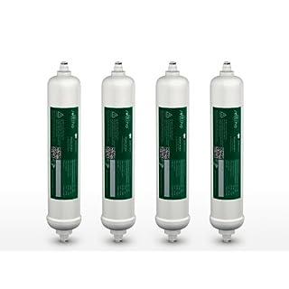 4x SELTINO Amico-Samsung DA29-10105J HAFEX/EXP Externe Kühlschrank Wasser Filter; passt zu LG, Daewoo, Bosch, Siemens und andere