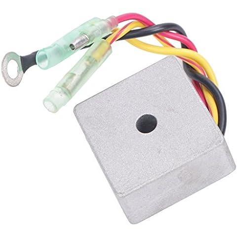 WANOOS Rectificador Regulador de Voltaje para Seadoo GT GTI GTS GTX HX SP SPI SPX XP (OEM:278000123)