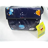 CHILDRENS BOYS LUNCH BAG SPACEMAN PLANETS HAND BAG / STRAP / INSULATED LUNCH BAG / SCHOOL BAG BLUE ROCKET PLANETS by SPACEMAN preisvergleich bei kinderzimmerdekopreise.eu