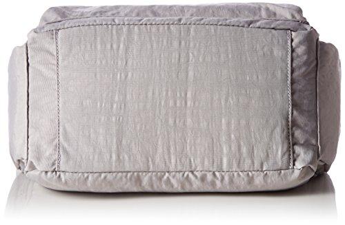 Kipling gabbie BP K22621E32 Damen Schultertaschen 36x30x19 cm Grau (N Slate Grey)
