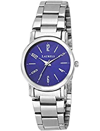 Laurels Blue Color Analog Women's Watch With Metal Chain: LWW-SVT-030707