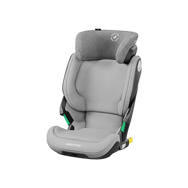 Maxi-Cosi Kore i-Size Child Car Seat, 3.5 - 12 years, 100 - 150 cm, Authentic Grey Maxi-Cosi Child car seat, suitable to use from 3.5 to 12 years (approx from 100 cm to 150 cm) ISOFIX installation is possible with this group 2/3 car seat for optimal stability Quick and easy to buckle up: This ISOFIX car seat is designed to enable children to get in and out and buckle up on their own in a few seconds 1