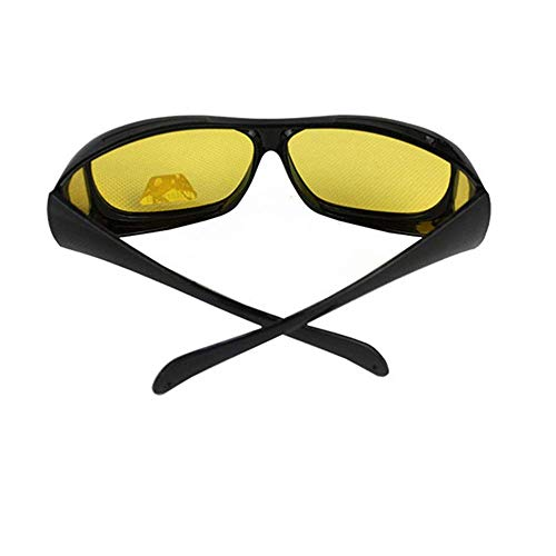 Jingchen Sonnenbrille Polarized Motorcycle Riding Glasses Black Frame for Outdoor Activity Sport Night Vision Goggles Protective Sand Polarized