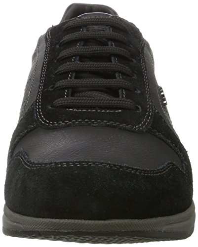 Geox U Avery C, Sneakers Basses Homme Noir (Black)