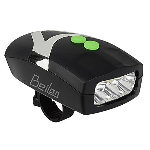2 en 1 Super Bright 3 LED feux de vélo