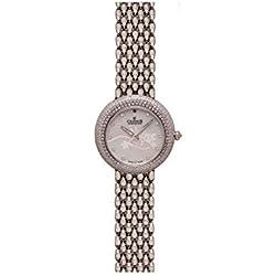 Charmex Las Vegas 6310 35mm Silver Steel Bracelet & Case Synthetic Sapphire Women's Watch