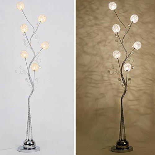 Irgendeine Heimatlampe Led Fernbedienung vertikale Stehleuchte, Aluminium Couchtisch vertikale Lampe moderne einfache kreative Stehleuchte ( ausgabe : Fernbedienungsschalter ) - 5