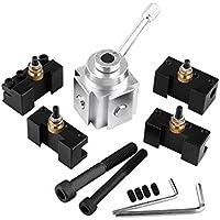 Set de Aleación de Aluminio Mini Herramienta de Torno Cambio Rápido y Tornillos de Sujeción