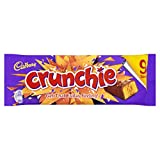 Cadbury Crunchie Chocolate Bar, 9 x 23.5g