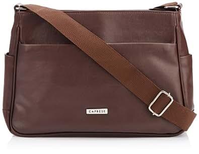 Caprese Women's Sling Bag (Brown)