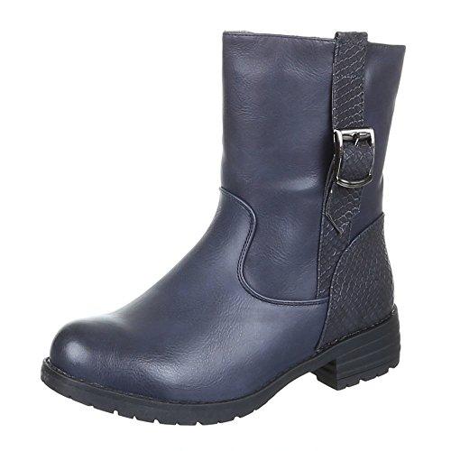 Chaussures pour femme de 928, pa-bOOTS Bleu - Bleu