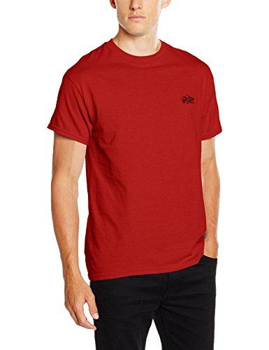 Hot Tuna Herren Core T-Shirt Red (Cardinal Red)