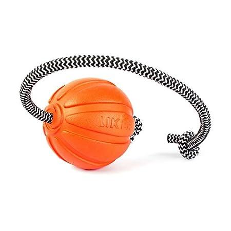 Liker Ball für Hunde mit Seil