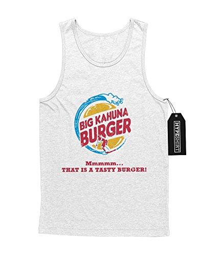 Tank-Top Pulp Fiction Big Kahuna Burger King Mashup C123457 Weiß