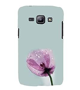 Pink Flower Hard Polycarbonate Designer Back Case Cover for Samsung Galaxy J1 (2015) :: Samsung Galaxy J1 4G (2015) :: Samsung Galaxy J1 4G Duos :: Samsung Galaxy J1 J100F J100Fn J100H J100H/Dd J100H/Ds J100M J100Mu