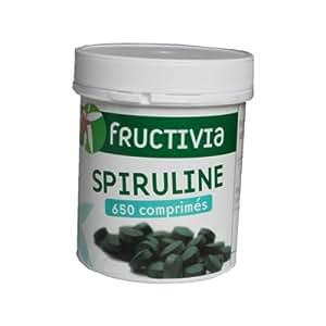 Fructivia - Spiruline 650 Comprimes