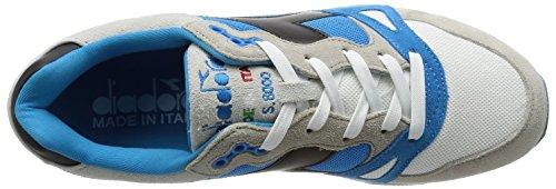 Diadora - S8000 Nyl Ita, Scarpe da ginnastica Unisex – Adulto türkis/weiß/grau