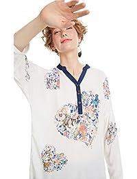 Donna Rosso Abbigliamento Bluse Shirt Top E it Desigual T Amazon vSp8O8