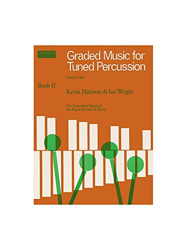 ABRSM Graded Music For Tuned Percussion - Book 2 Grades 3-4. Für Xylophon, Marimbaphon