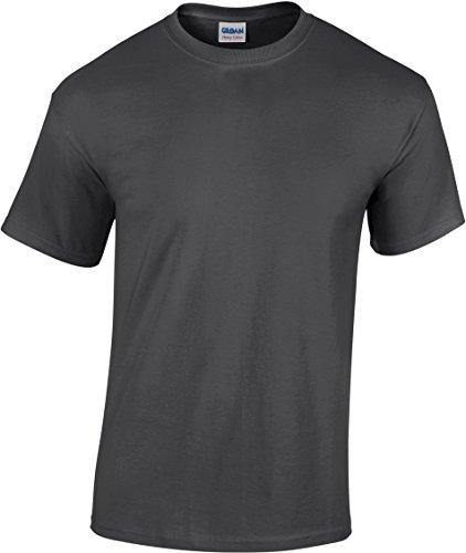 Gildan Herren T-Shirt Heavy 5000 Dark Heather XXL