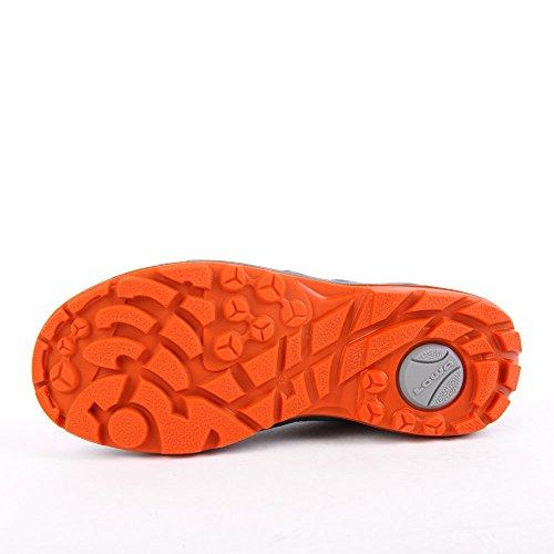 Lowa Ticino GTX Lo Junior Jeans Orange Blau