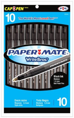 ballpoint-pen-medium-point-10-pk-black-sold-as-by-sanford